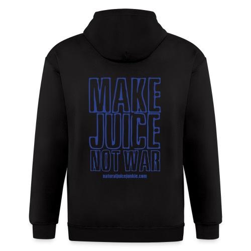Make Juice Not War (Women's Tee) - Men's Zip Hoodie