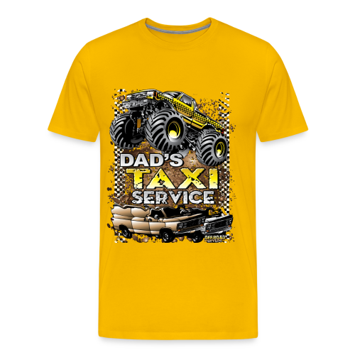 Dad's Taxi Servce - Men's Premium T-Shirt