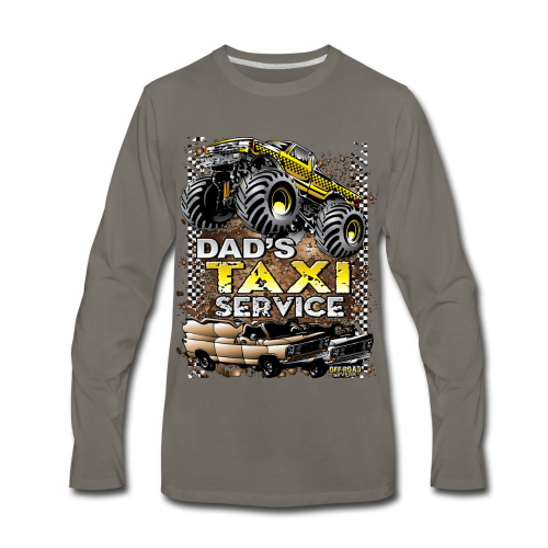 Dad's Taxi Servce - Men's Premium Long Sleeve T-Shirt