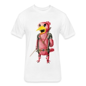 deadchicken - Fitted Cotton/Poly T-Shirt by Next Level
