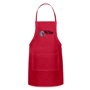 Early Bird Murders Worm - American Apparel T-shirt - Adjustable Apron