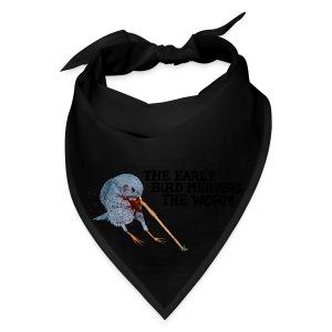 Early Bird Murders Worm - American Apparel T-shirt - Bandana