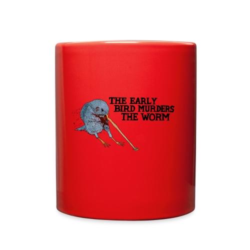 Early Bird Murders Worm - American Apparel T-shirt - Full Color Mug