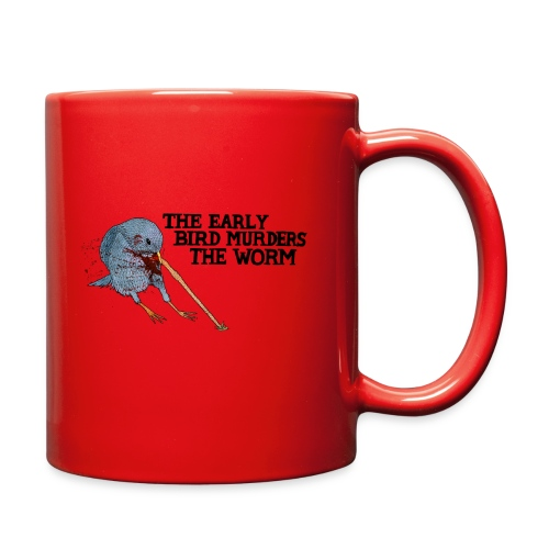 Early Bird Murders Worm - American Apparel T-shirt - Full Color Mug