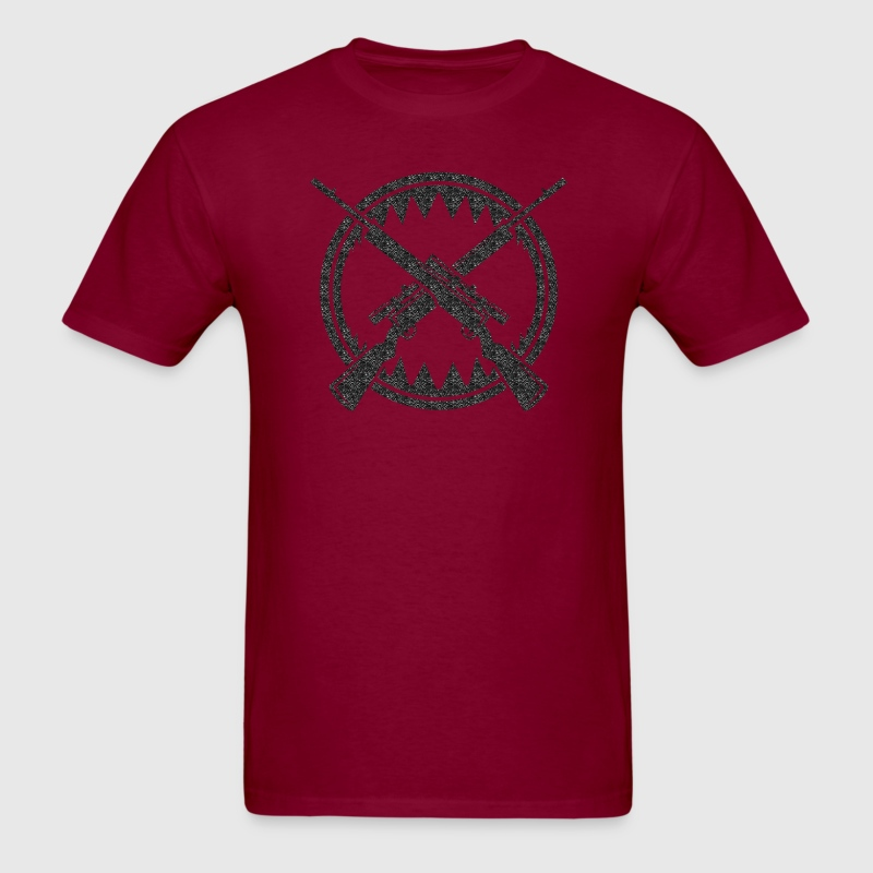 Crossed Rifles - Men's T-Shirt