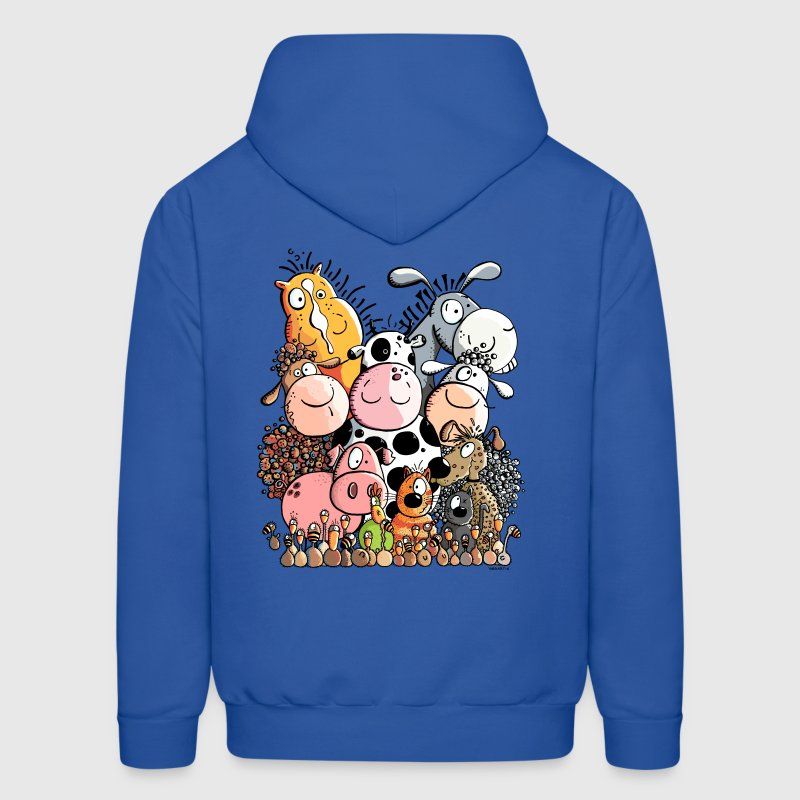 Funny Farm Animals Hoodies - Men's Hoodie