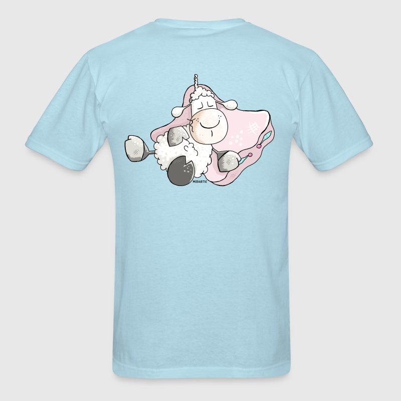 Dreamy Sheep - Lamb T-Shirts - Men's T-Shirt