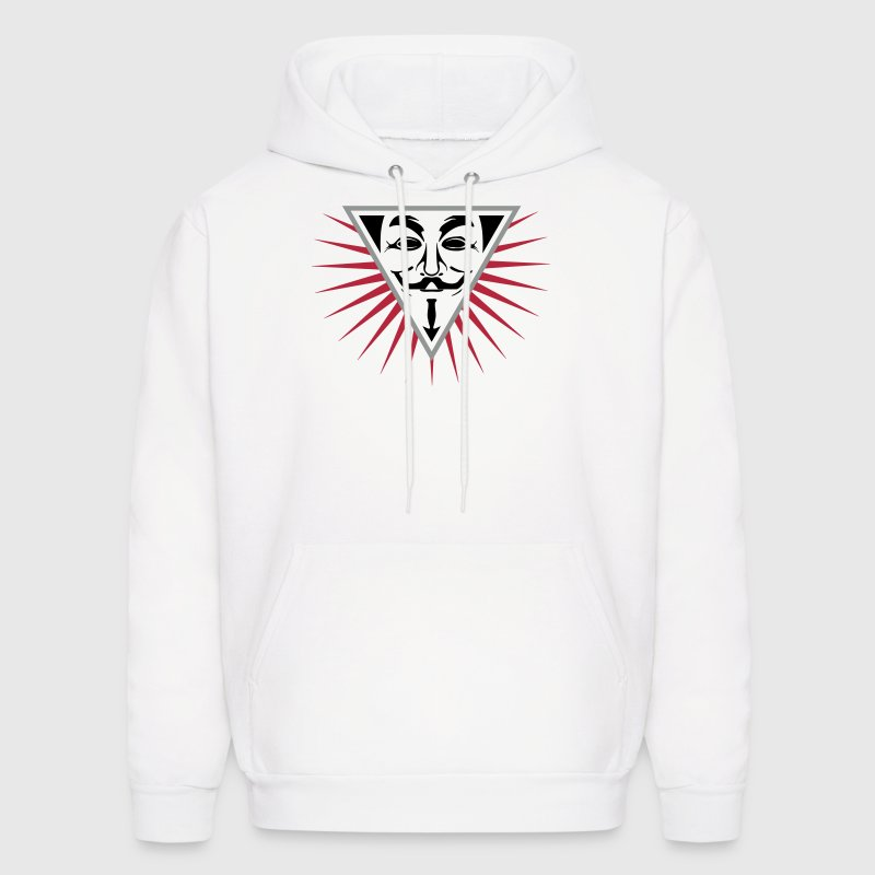 Anonymous NWO logo 3c Hoodies - Men's Hoodie