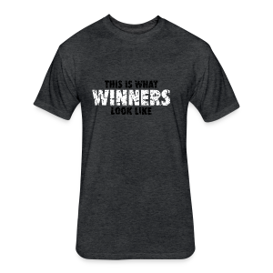Winner T-Shirt (Green) Women - Fitted Cotton/Poly T-Shirt by Next Level