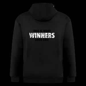 Winner T-Shirt (Green) Women - Men's Zip Hoodie