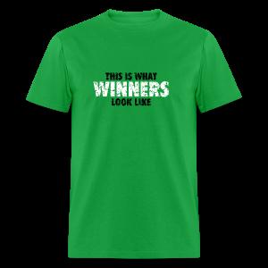 Winner T-Shirt (Green) Women - Men's T-Shirt