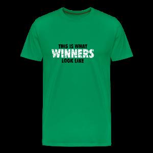 Winner T-Shirt (Green) Women - Men's Premium T-Shirt