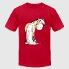 Funny Norwegian Fjord Horse T-Shirts - Men's T-Shirt by American Apparel