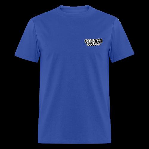 Back American Monster Truck - Men's T-Shirt