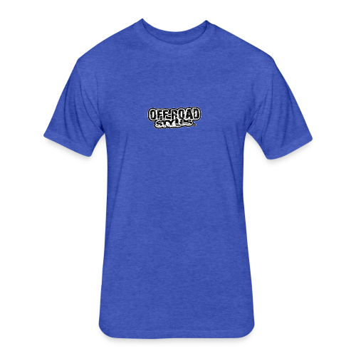 Kool Monster Bus - Fitted Cotton/Poly T-Shirt by Next Level