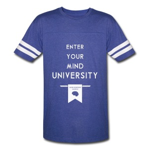 Enter Your Mind University - Geek History Lesson T-Shirt - Vintage Sport T-Shirt