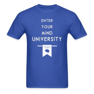 Enter Your Mind University - Geek History Lesson T-Shirt - Men's T-Shirt