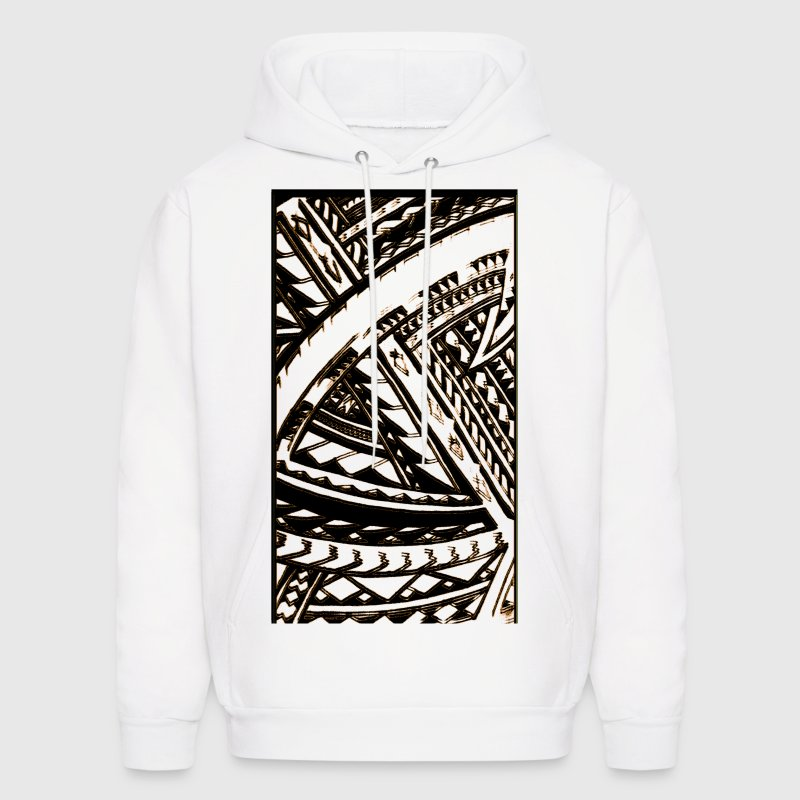 Fili Samoan Tribal art by Sku Hoodies - Men's Hoodie