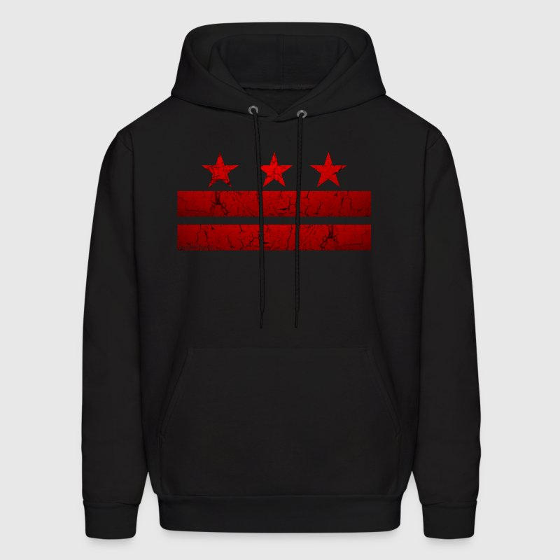 Washington -DC- Flag Vintage - Men's Hoodie