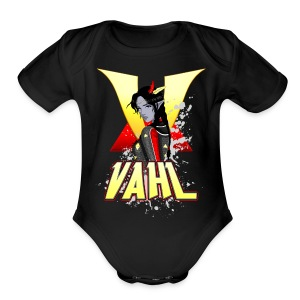 Vahl V - Cel Shaded - Short Sleeve Baby Bodysuit