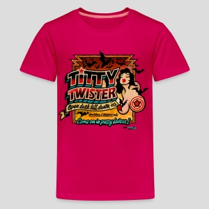 From Dusk Till Dawn: Titty Twister (Color) - Kids' Premium T-Shirt