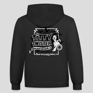 From Dusk Till Dawn: Titty Twister - Contrast Hoodie