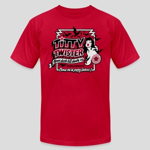 From Dusk Till Dawn: Titty Twister - Men's T-Shirt by American Apparel