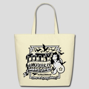 From Dusk Till Dawn: Titty Twister - Eco-Friendly Cotton Tote