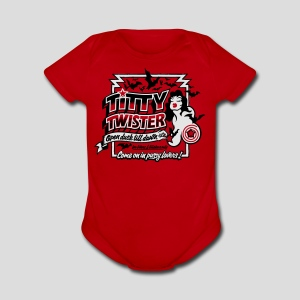 From Dusk Till Dawn: Titty Twister - Short Sleeve Baby Bodysuit
