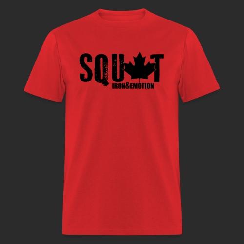 IRON&EMOTION's CANADIAN SQUAT - Men's T-Shirt
