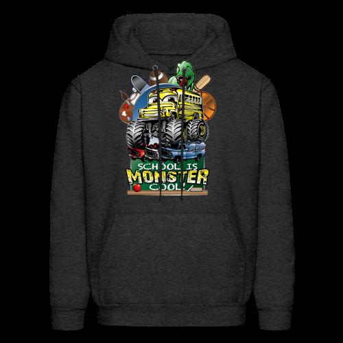 Monster School Bus FRONT - Men's Hoodie