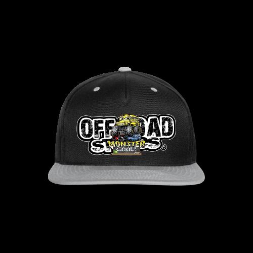 Monster Cool Bus - Snap-back Baseball Cap