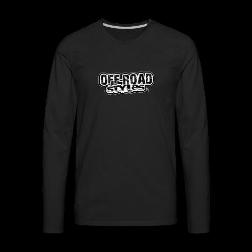 Monster Cool Bus - Men's Premium Long Sleeve T-Shirt