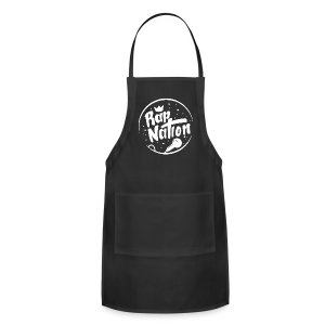 Black Rap Nation T-Shirt - Adjustable Apron
