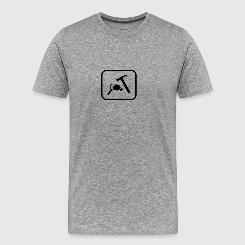 Rock Geology Icon - Men's Premium T-Shirt