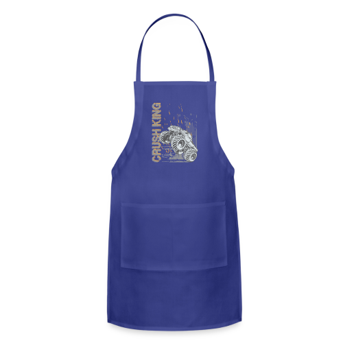 Monster Truck Crush - Adjustable Apron