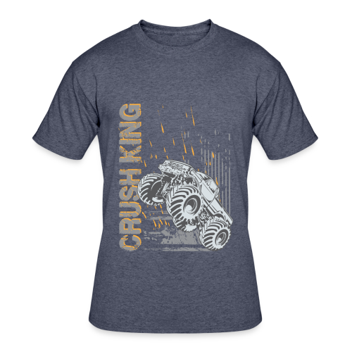 Monster Truck Crush - Men's 50/50 T-Shirt