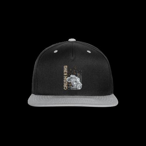 Monster Truck Crush - Snap-back Baseball Cap