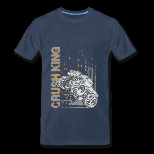 Monster Truck Crush - Men's Premium T-Shirt