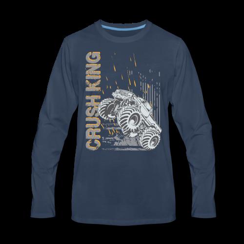 Monster Truck Crush - Men's Premium Long Sleeve T-Shirt
