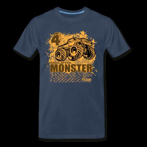 Kids Monster Truck Shirt - Men's Premium T-Shirt