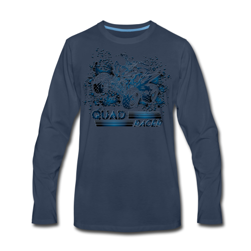 Quad Racing Shirt - Men's Premium Long Sleeve T-Shirt