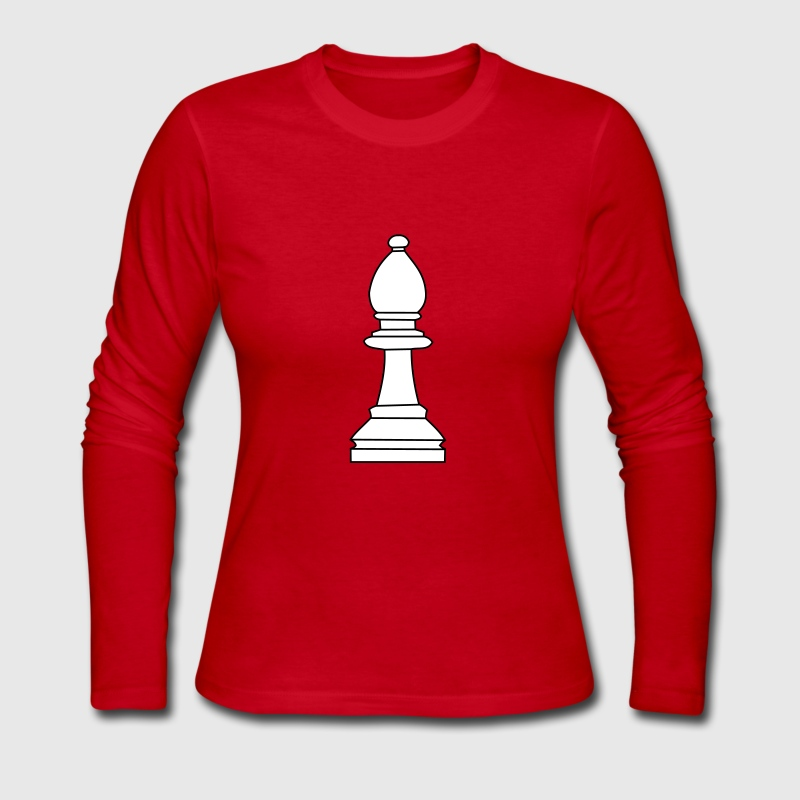 Bishop, chess pieces bishop Long Sleeve Shirts - Women's Long Sleeve Jersey T-Shirt