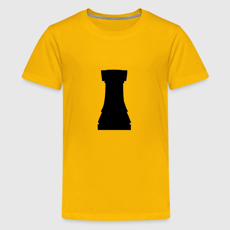 Rook, chess pieces rook Kids' Shirts - Kids' Premium T-Shirt