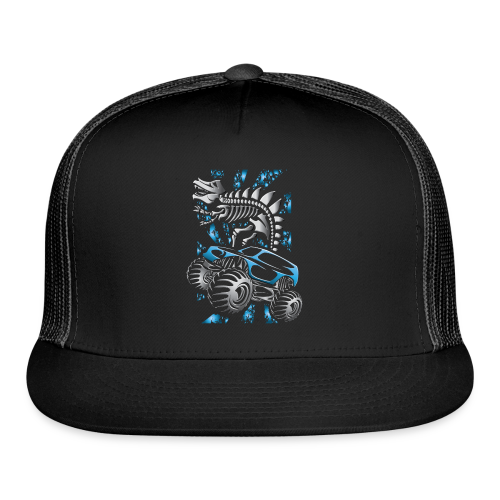 Monster SkeleT-Rex Truck - Trucker Cap