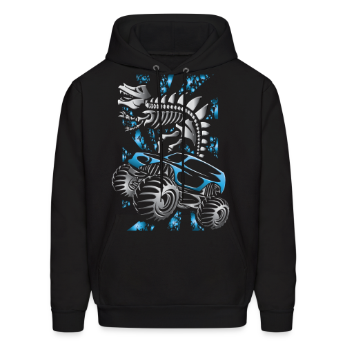 Monster SkeleT-Rex Truck - Men's Hoodie