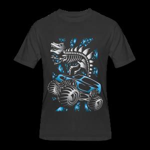 Monster SkeleT-Rex Truck - Men's 50/50 T-Shirt