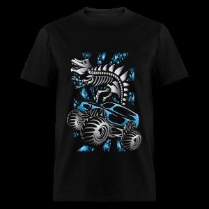 Monster SkeleT-Rex Truck - Men's T-Shirt
