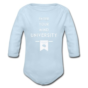 Enter Your Mind University - Geek History Lesson T-Shirt (Women) - Long Sleeve Baby Bodysuit