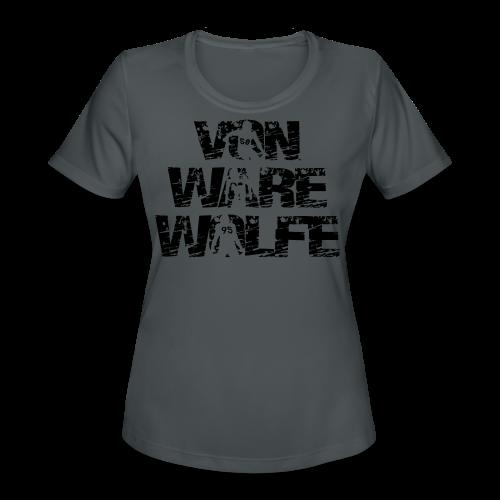 Von Ware Wolfe - Mens - T-shirt - Women's Moisture Wicking Performance T-Shirt